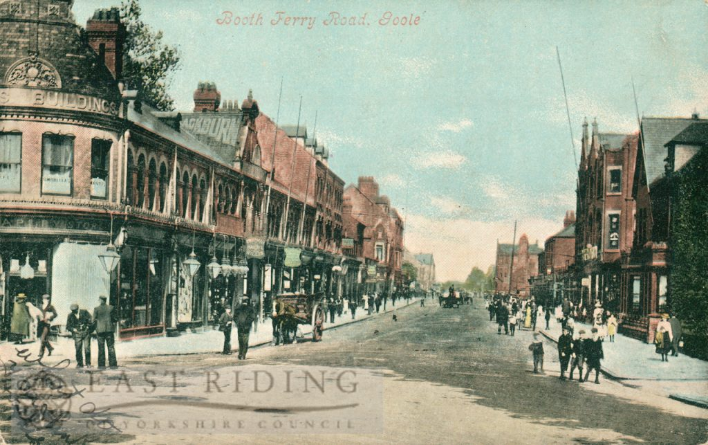 Boothferry Road, Goole 1906