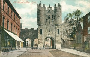 Micklegate Bar, York 1901